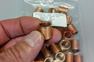Harley Davidson Spark Plug Thread Repair